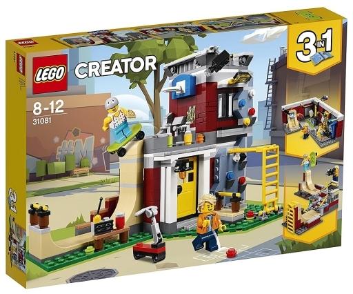 【新品】おもちゃ LEGO スケボーハウス (モジュール式) 「レゴ クリエイター」 31081