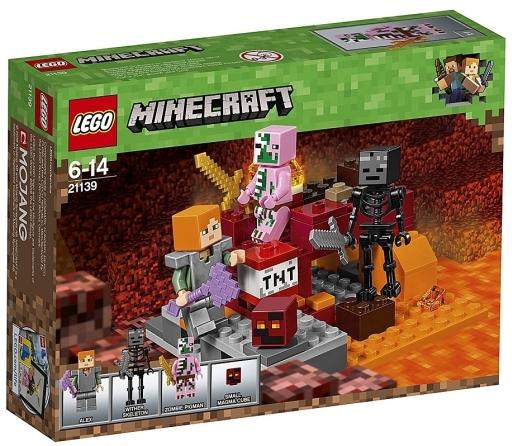 【新品】おもちゃ LEGO 暗黒界の戦い 「レゴ マインクラフト」 21139