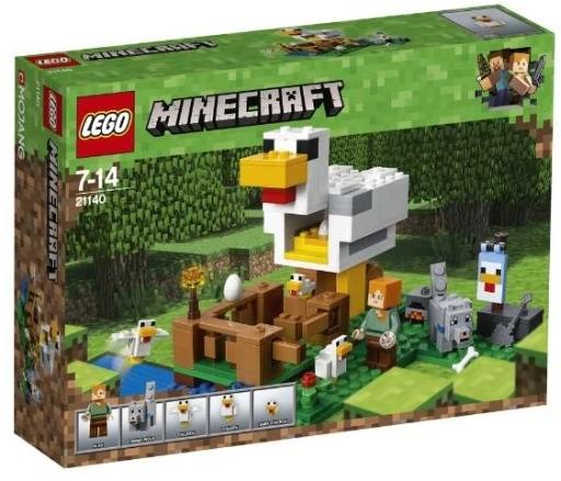 【予約】おもちゃ LEGO ニワトリ小屋 「レゴ マインクラフト」 21140
