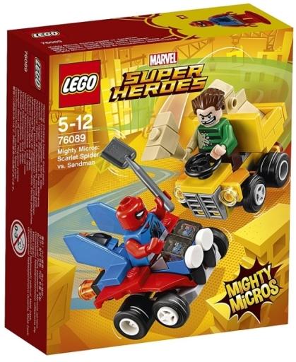 【新品】おもちゃ LEGO マイティマイクロ : スパイダーマン vs サンドマン 「レゴ スーパー・ヒーローズ」 76089