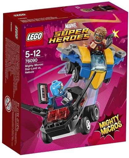 【予約】おもちゃ LEGO マイティマイクロ : スター・ロード vs ネビュラ 「レゴ スーパー・ヒーローズ」 76090