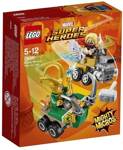 【新品】おもちゃ LEGO マイティマイクロ : ソー vs ロキ 「レゴ スーパー・ヒーローズ」 76091