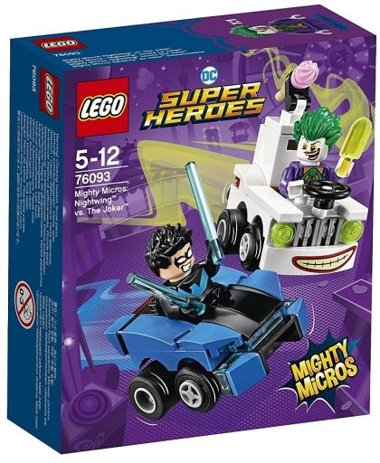 【新品】おもちゃ LEGO マイティマイクロ : ナイトウィング vs ジョーカー 「レゴ スーパー・ヒーローズ」 76093