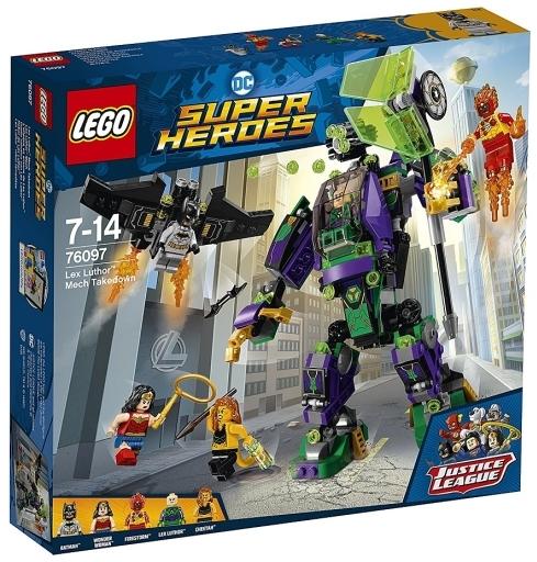 【中古】おもちゃ LEGO レックス・ルーサー メカとの戦い 「レゴ スーパー・ヒーローズ」 76097