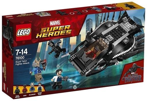 【予約】おもちゃ LEGO ロイヤル・タロン・ファイターの攻撃 「レゴ スーパー・ヒーローズ」 76100