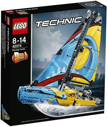 【新品】おもちゃ LEGO レーシングヨット 「レゴ テクニック」 42074