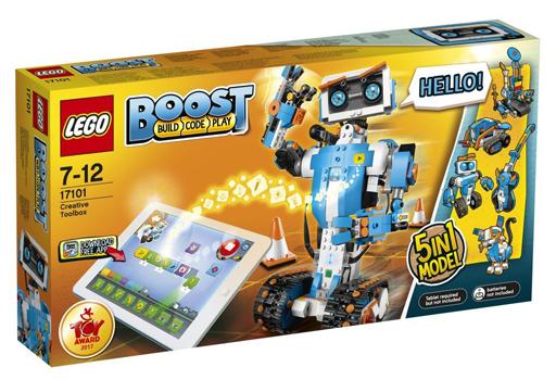【新品】おもちゃ LEGO クリエイティブ・ボックス 「レゴ ブースト」 17101