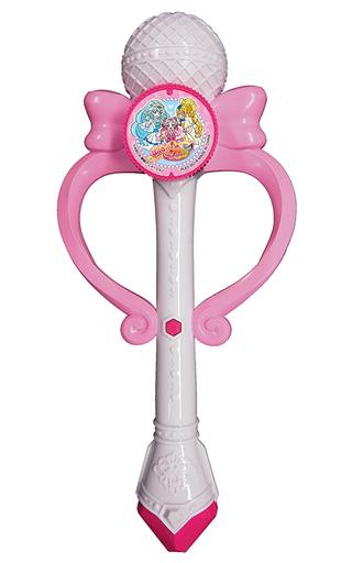 【新品】おもちゃ ハッピー♪メロディマイク 「HUGっと!プリキュア」