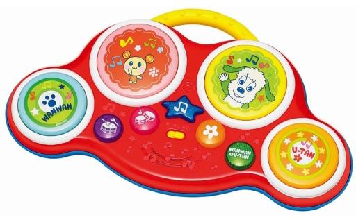 【新品】おもちゃ ワンワンとうーたんのリズムでタッチ 「ワンワンとうーたん」 5239