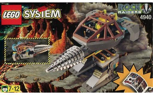 【中古】おもちゃ LEGO Granite Grinder 「レゴ システム」 4940