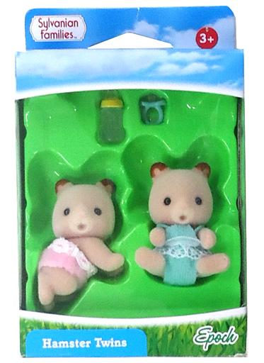 【中古】おもちゃ ハムスターの双子の赤ちゃん 「シルバニアファミリー」