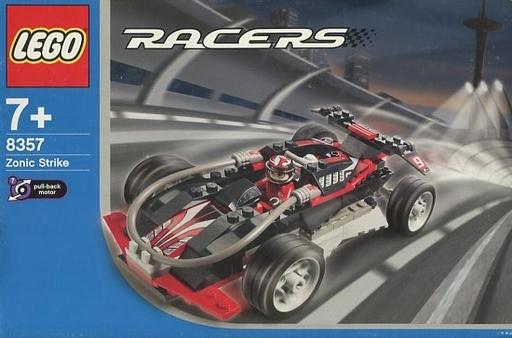 【中古】おもちゃ LEGO ゾニック・ストライク 「レゴ レーサー」 8357