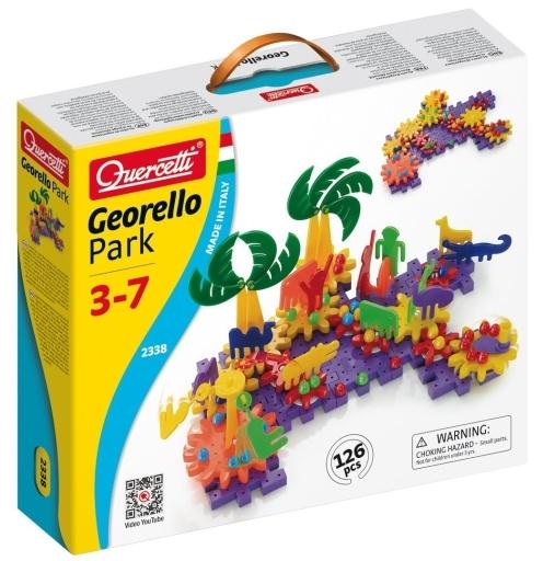 【中古】おもちゃ 2338 Quercetti Georello Park -ケルチェッティ ファンタジーパーク-