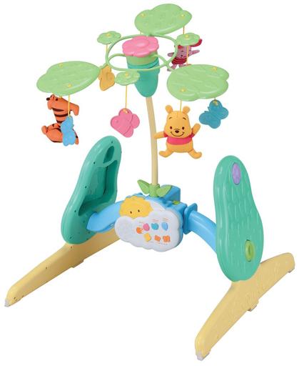 【新品】おもちゃ 選べる回転 6WAYジムにへんしんメリー 「くまのプーさん」
