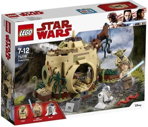 【新品】おもちゃ LEGO ヨーダの小屋 「レゴ スター・ウォーズ」 75208