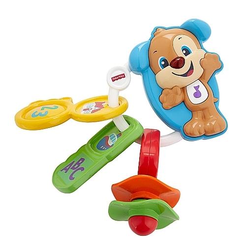 【新品】おもちゃ フィッシャープライス バイリンガル・わんわんのおでかけキー