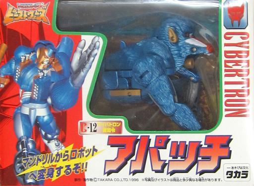 【中古】おもちゃ [ランクB] C-12 サイバロトン副指令 アパッチ 「トランスフォーマービーストウォーズ」