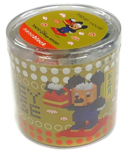 【中古】おもちゃ ナノブロック ミッキーマウス 2015年 ニューイヤー 「ディズニー」 東京ディズニーリゾート限定