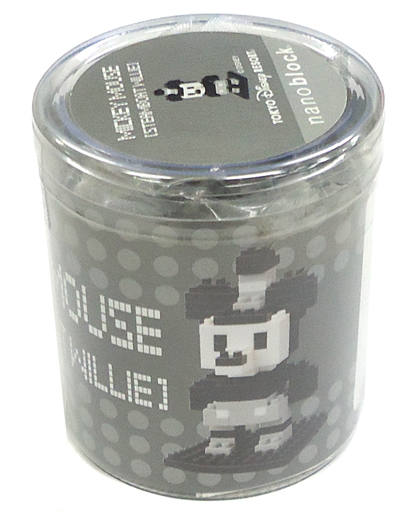 【中古】おもちゃ ナノブロック ミッキーマウス 蒸気船ウィリー 「ディズニー」 東京ディズニーリゾート限定