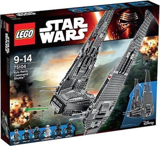 【中古】おもちゃ [ランクB] LEGO カイロ・レンのコマンドーシャトル 「レゴ スター・ウォーズ」 75104
