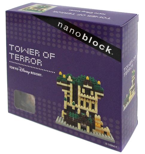 【中古】おもちゃ ナノブロック タワー・オブ・テラー 東京ディズニーリゾート限定
