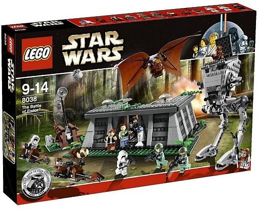 【中古】おもちゃ [ランクB] LEGO エンドアの戦い 「レゴ スター・ウォーズ」 8038