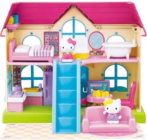 【予約】おもちゃ 階段付きのおうちにようこそ! 「ハローキティ」