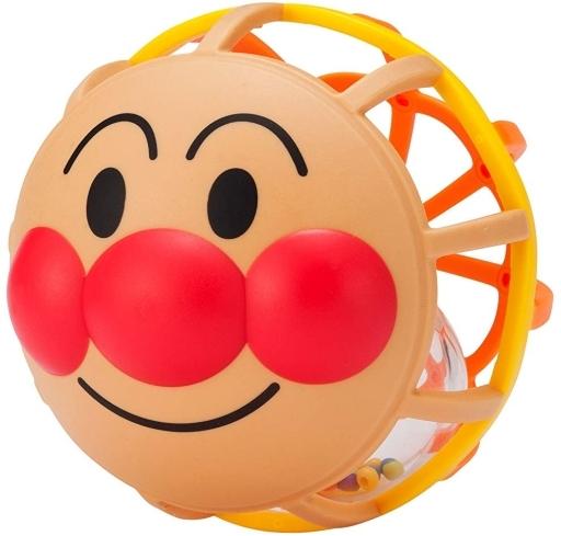 【予約】知育・幼児玩具 しゃかしゃか顔ボール 「 それいけ!アンパンマン」