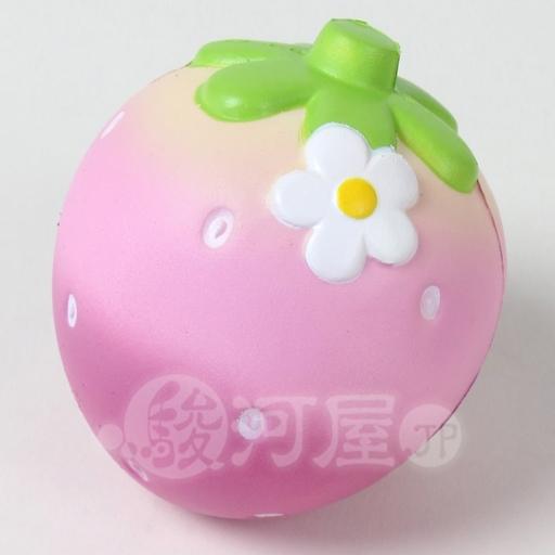 マザーガーデン 新品 スクイーズ(食品系/おもちゃ) スクイーズ 柔らか苺LL 桃 マザーガーデン