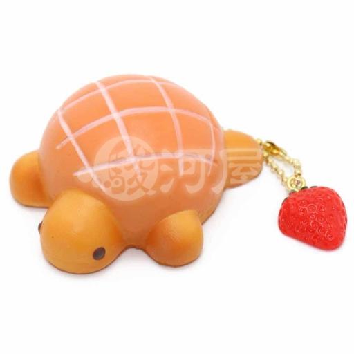 マザーガーデン 新品 スクイーズ(食品系/おもちゃ) スクイーズ 柔らかキーホルダー カメロンパン 橙 マザーガーデン