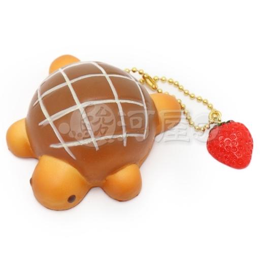 マザーガーデン 新品 スクイーズ(食品系/おもちゃ) スクイーズ 柔らかキーホルダー カメロンパン 茶 マザーガーデン