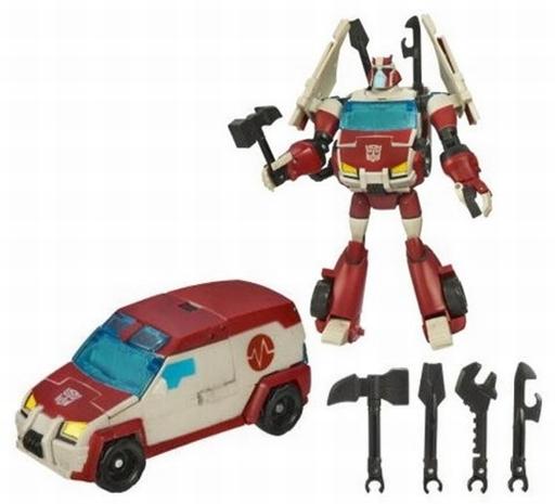 【中古】おもちゃ AUTOBOT RATCHET -オートボットラチェット-「トランスフォーマー アニメイテッド」