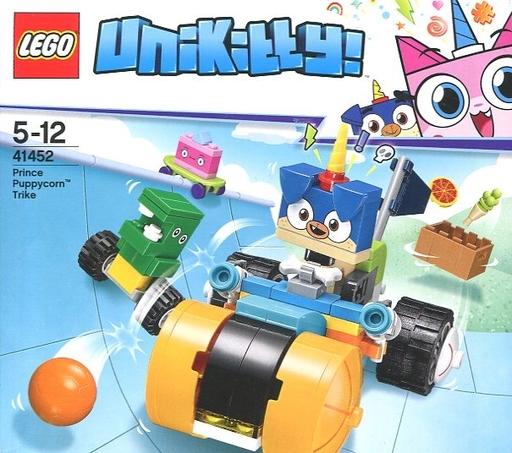 【中古】おもちゃ LEGO プリンス・パピーコーンの三輪車 「レゴ ユニキティ」 41452