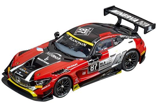 """【予約】ラジコン 車(本体) スロットカー 1/32 メルセデス-AMG GT3 """"AKKA ASP"""" #87 「Carrera DIGITAL 132シリーズ」 [20030846]"""