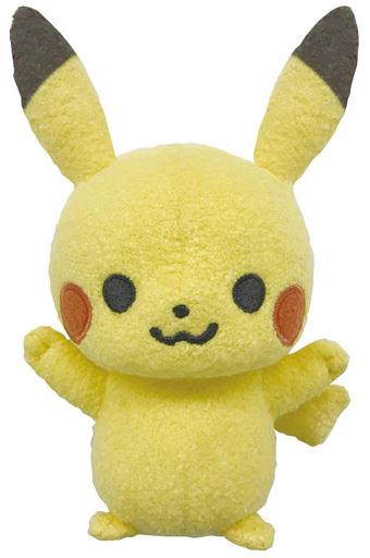 セガトイズ 新品 知育・幼児玩具 monpoke -モンポケ- はじめてのもこもこぬいぐるみ ピカチュウ 「ポケットモンスター」