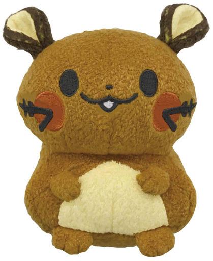 セガトイズ 新品 知育・幼児玩具 monpoke -モンポケ- はじめてのもこもこぬいぐるみ デデンネ 「ポケットモンスター」