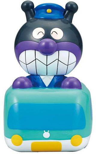 バンダイ 新品 知育・幼児玩具 とっきゅうれっしゃばいきんまん 大集合!ほかほかピープーシリーズ 「それいけ!アンパンマン」