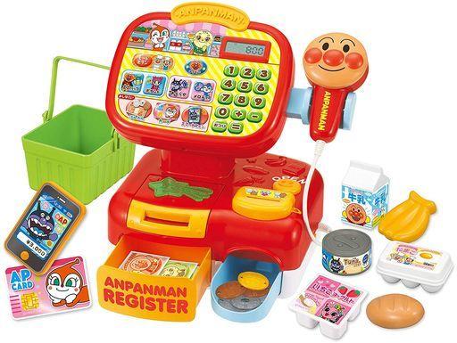 セガトイズ 新品 知育・幼児玩具 おさつスイスイ!セルフでピピッ♪アンパンマンレジスター 「それいけ!アンパンマン」