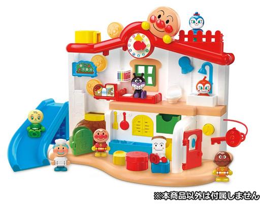 バンダイ 新品 おもちゃ チャイムがピンポン♪あそびがいっぱい アンパンマンはじめてハウス 「それいけ!アンパンマン」