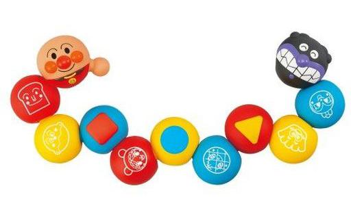 ジョイパレット 新品 おもちゃ ムニュッ!とつなげてポン!育脳ボールパズル 「それいけ!アンパンマン」
