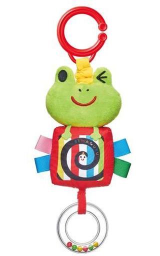 ジョイパレット 新品 おもちゃ おでかけぶるぶるマスコット 「しましまぐるぐる」