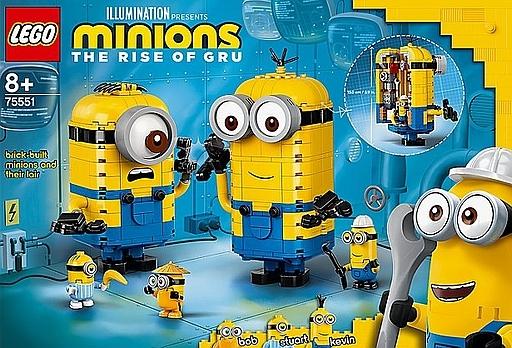 LEGO ミニオンと秘密基地 「レゴ ミニオンズ」 75551
