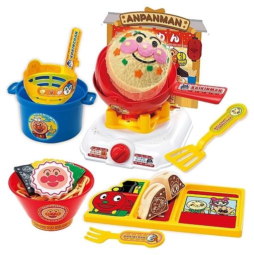 ジョイパレット 新品 おもちゃ くるんと炒めてチャーハンも!アンパンマンラーメンDXセット 「それいけ!アンパンマン」