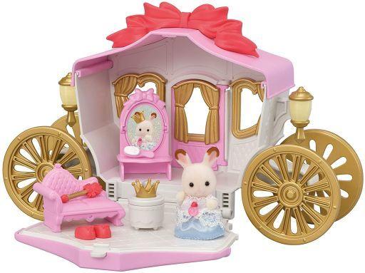 エポック社 新品 おもちゃ プリンセスとおしゃれ馬車セット 「シルバニアファミリー」