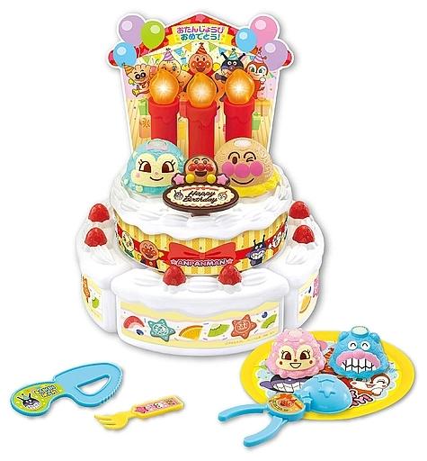 ジョイパレット 新品 おもちゃ ろうそくフー! アンパンマンバースデーアイスケーキセット 「それいけ!アンパンマン」