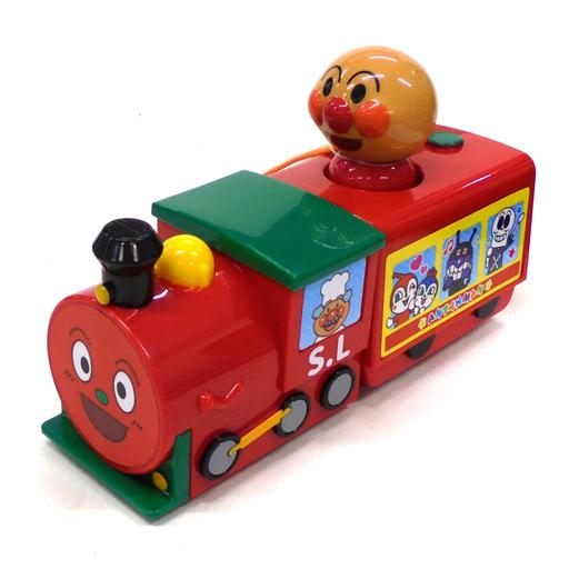ジョイパレット 新品 おもちゃ アンパンマン プルってビューン! SLマン 「それいけ!アンパンマン」