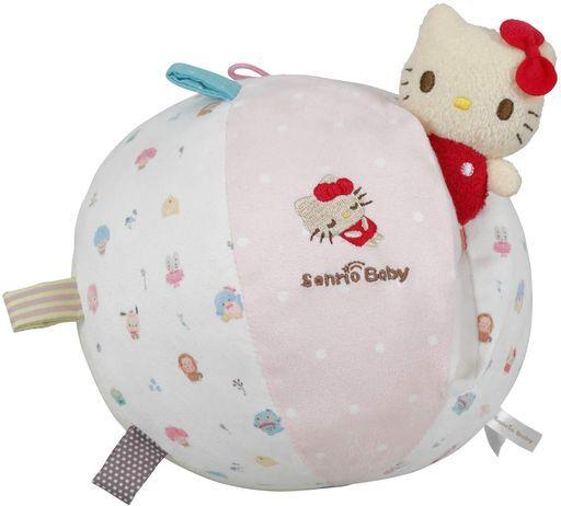 カワダ 新品 おもちゃ サンリオベビー はじめてボール ラトルもいっしょ 「サンリオキャラクターズ」 [SB-01]