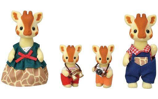 エポック社 新品 おもちゃ キリンファミリー 「シルバニアファミリー」