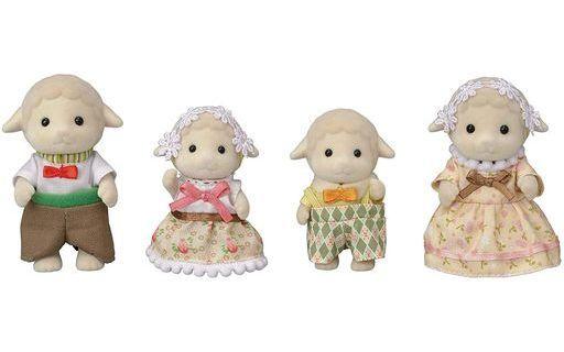 エポック社 新品 おもちゃ ヒツジファミリー 「シルバニアファミリー」