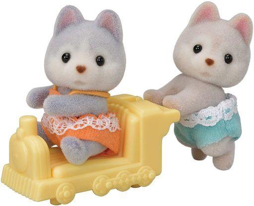 エポック社 新品 おもちゃ ハスキーのふたごちゃん 「シルバニアファミリー」
